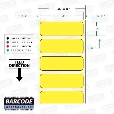 "BCW DT Floodcoat 3.00 X 1.00 - 1"" Core"