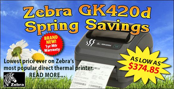 GK420D Spring Savings
