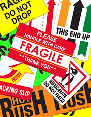 Shipping & Safety Labels