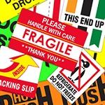 Fluorescent Fragile Labels