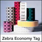 Zebra Economy Tag