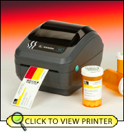 Zebra GX420d Direct Thermal Printer GX42-202511-000