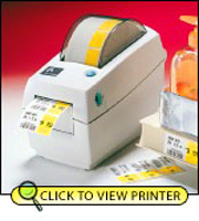 Zebra LP2824 Direct Thermal Printer 2824-21201-0001