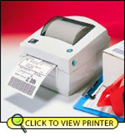 Zebra LP2844 Direct Thermal Printer 2844-20302-0001