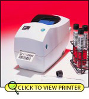 Zebra TLP2824 Plus Direct Thermal-Thermal Transfer Printer 282P-101110-000