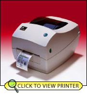 Zebra TLP3842 Direct Thermal-Thermal Transfer Printer 3842-10300-0001